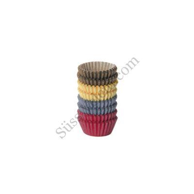 4 színű Tescoma Delicia mini muffin papír 200 db