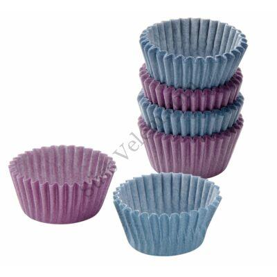 100 db Zenker kék és lila bonbon papír
