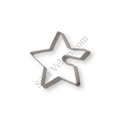 5,5 cm-es csillag alakú pohár sütikiszúró