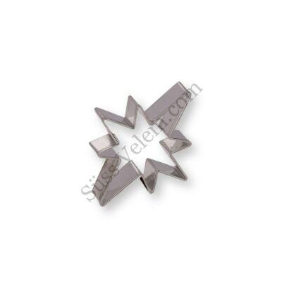 5 cm-es sarkcsillag kiszúró forma