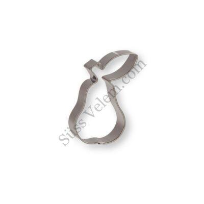 5 cm-es körte alakú sütikiszúró forma