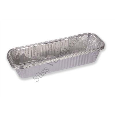 5 db 30*10 cm szögletes eldobható aluminium sütőtálca