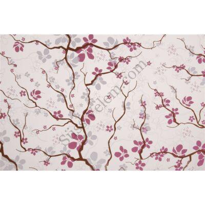 5 ív cseresznye virág mintás csokoládé transzfer fólia