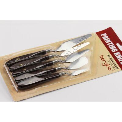 5 részes kisméretű spatula készlet