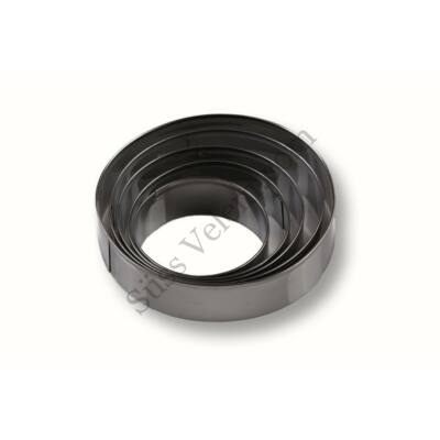 5 részes nagy méretű kör alakú süti kiszúró készlet