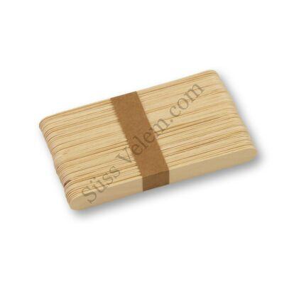 50 db fa jégkrém pálcika (fa spatula)