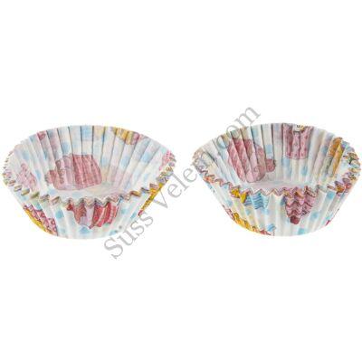 50 db Zenker cupcake mintás muffin papír