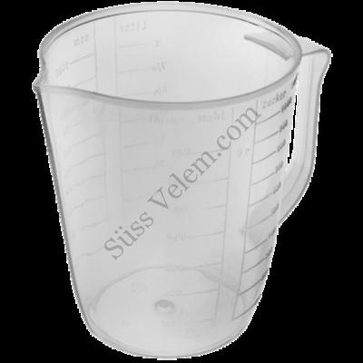 Műanyag 1l-es Fackelmann mérőkancsó