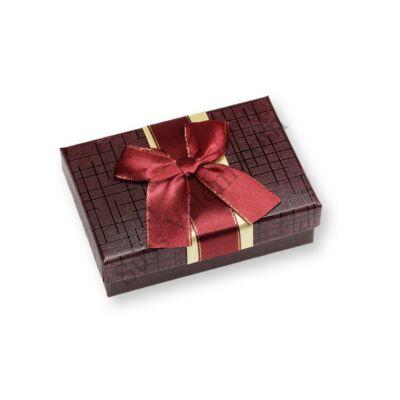 6 adagos bordó masnis bonbon doboz
