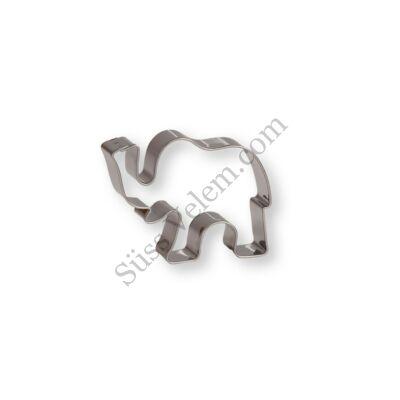 6 cm-es elefánt alakú sütikiszúró