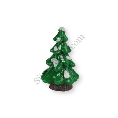 6 cm-es fenyőfa műanyag tortadísz