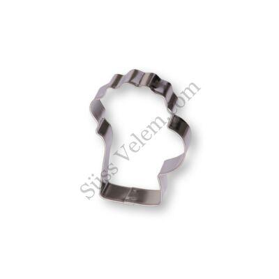 6 cm-es söröskorsó alakú sütikiszúró forma