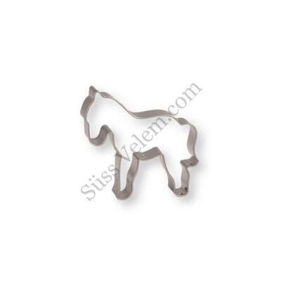 6 cm-es ló kiszúró forma