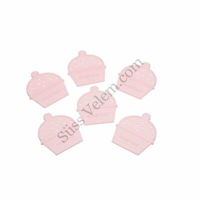 6 db Kitchen Craft muffin elválasztó