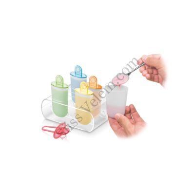6 részes jégkrém készítő forma készlet Tescoma Bambini