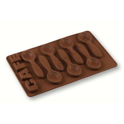 7 adagos csokikanál forma