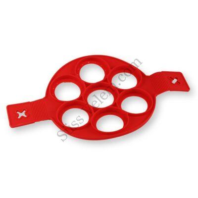 7 adagos szilikon pancake forma