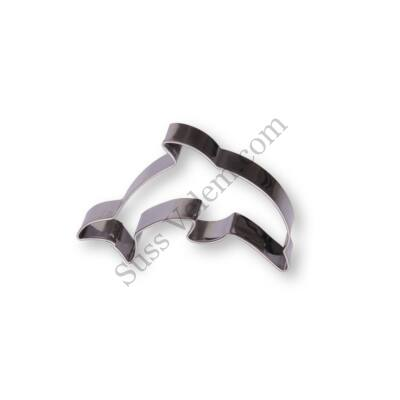 7 cm-es delfin alakú sütikiszúró forma