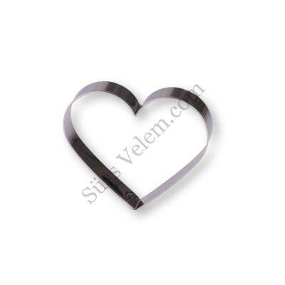 7 cm-es szív alakú sütikiszúró forma