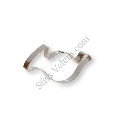 7 cm-es kürt alakú kiszúró forma