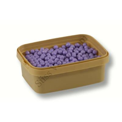 7 mm-es lila cukorgyöngy
