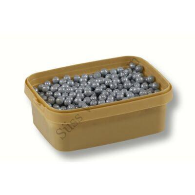 7 mm-es ezüst cukorgyöngy