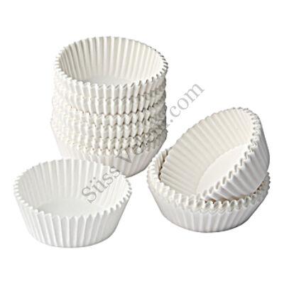 200 db Zenker fehér muffin papír