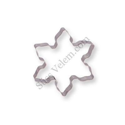 8 cm-es hópehely kiszúró forma