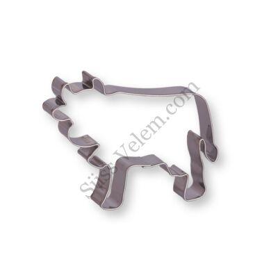 8 cm-es tehén alakú sütikiszúró forma