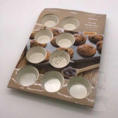 Prime Chef 12 adagos tapadásmentes muffin sütőforma