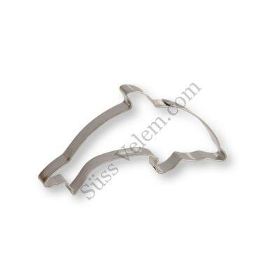 9,5 cm-es delfin alakú sütikiszúró forma