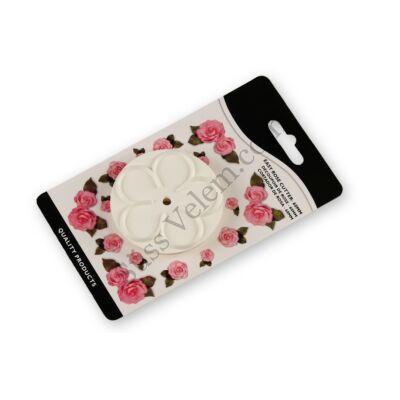 9 cm-es rózsaszirom kiszúró