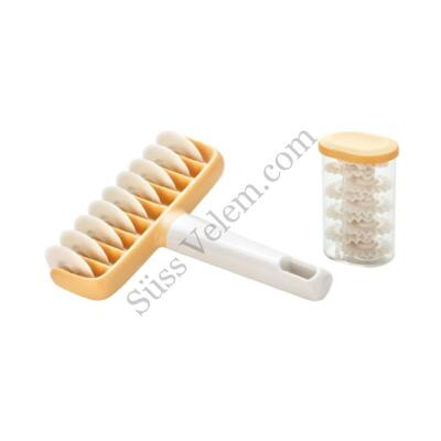 9 kerekes műanyag Tescoma Delicia kerekes tésztavágó