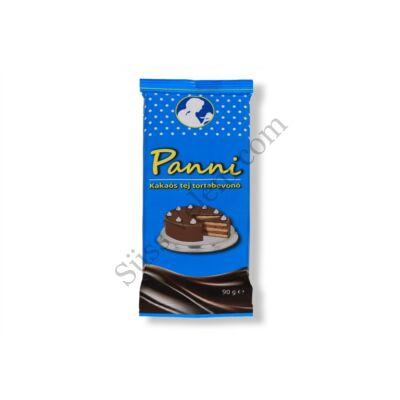 90 g Panni kakaós tej tortabevonó