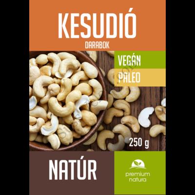 250 g Premium Natura kesudió darabok