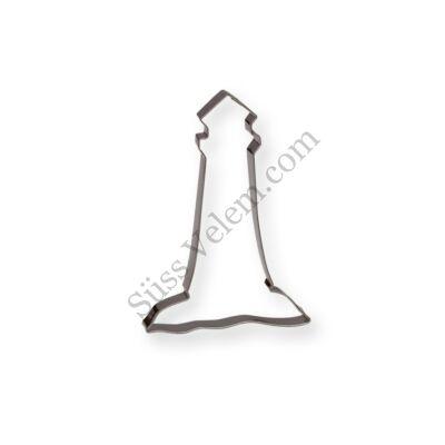 10 cm-es világítótorony alakú sütikiszúró forma