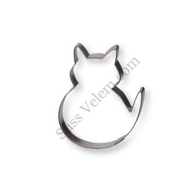 Ülő macska süti kiszúró