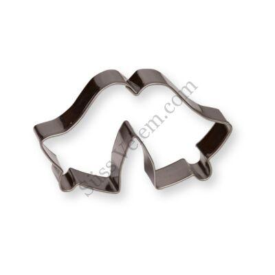 7 cm-es harangpár sütikiszúró forma