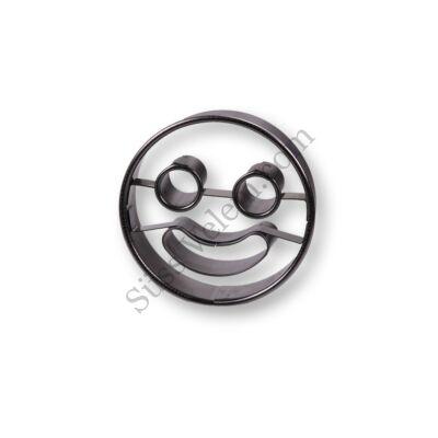Kerek vidám Smiley linzer kiszúró