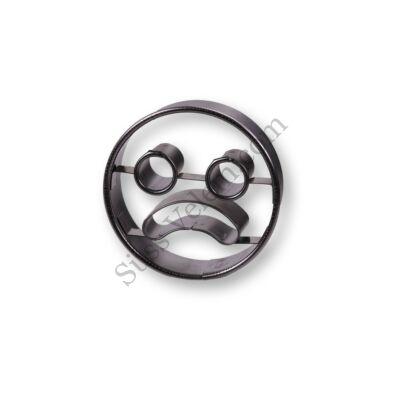 Kerek szomorú Smiley linzer kiszúró