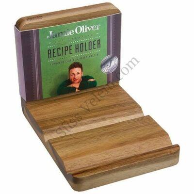 Akácfa szakácskönyv és tablet tartó Jamie Oliver