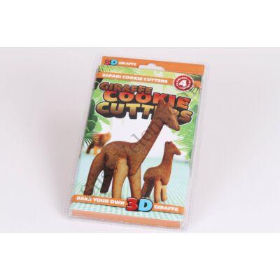 3 D állatos keksz kiszúró zsiráf
