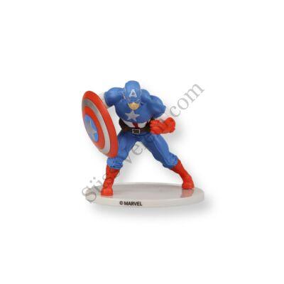 Amerika Kapitány tortadísz (műanyag)