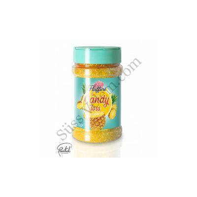 Ananász ízesítésű vattacukor alapanyag 300 g