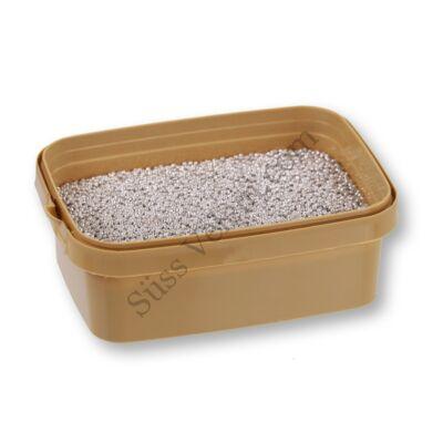 Apró fényes ezüst cukorgyöngy 20 dkg