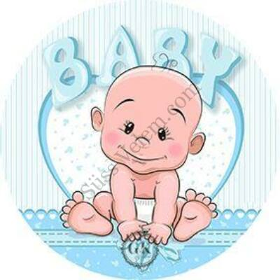 Baby fiú tortaostya