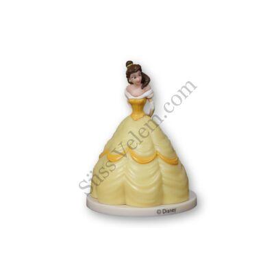 Belle hercegnő műanyag tortadíszítő figura