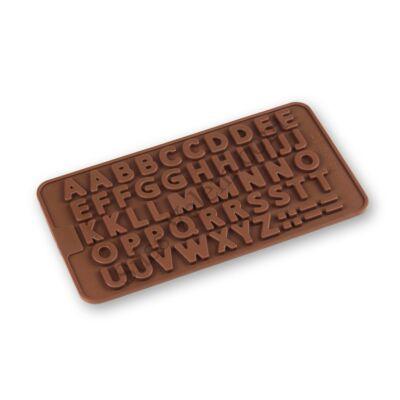 Betű mintás szilikon csokoládé öntőforma