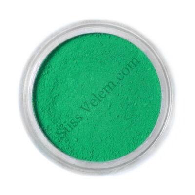 Borostyán zöld Fractal ételfesték por felületi festéshez