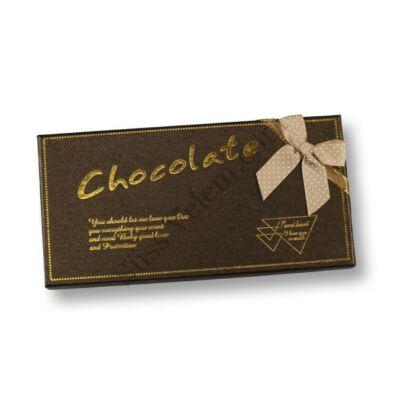 Chocolate feliratos bonbon doboz